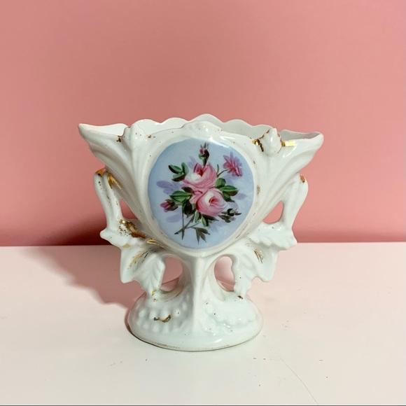 Vintage small rose vase
